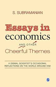 essays economics cheerful themes dismal by subramanian abebooks essays in economics and other cheerful themes s subramanian