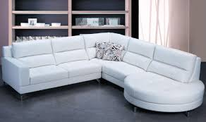 Small Picture White Leather Sectional Sofa Best S3NET Sectional sofas sale