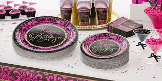 Damask Birthday Party Supplies; Damask Birthday Party Supplies ...