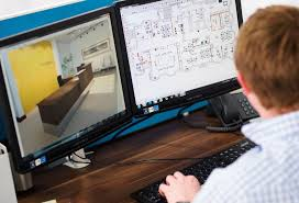office profile space planning and autocad design cad office space layout