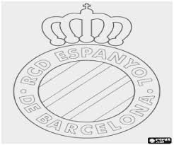 Real Madrid Logo Coloring Pages Pleasant Kleurplaten Vlaggen En