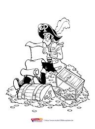 Gratis Kleurplaten Piet Piraat
