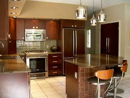 comfortable meal time with the kitchen cabinet refacing interior