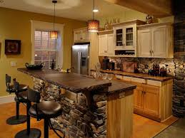 Rustic Log Kitchen Cabinets Country Kitchen Magnificent Rustic Cabin Kitchen Cabinets Image