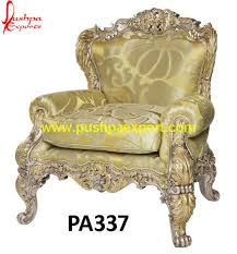 brass and metal furniture. Brass And Silver Sheet Covered Wooden Carved Chair Metal Furniture
