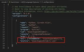 python import custom module in vscode