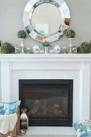 painting fireplace tile how to paint tile easy fireplace paint makeover setting for four image
