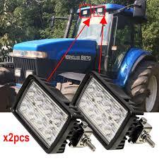 Ferguson Tractor Lights Us 118 68 8 Off 2pcs For Massey Ferguson Tractors 6235 6245 6255 6265 6270 6280 6290 12v 24v 40w 8leds 6inch X 3 5 Inch Led Tractor Work Lights In