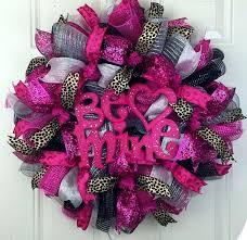 valentine deco mesh wreath instructions mesh flower