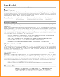 11 Sample Resume Legal Secretary Azzurra Castle Grenada