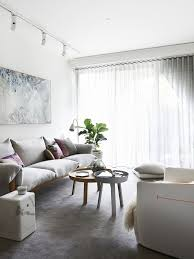 track lighting for living room. Whitewashed Track Lights That Highlight The Artworks Lighting For Living Room K
