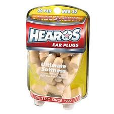HEAROS <b>Ultimate Softness</b> Series Noise Cancelling Disposable ...