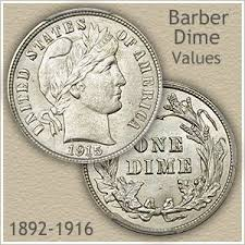 Barber Dime Value On The Rise