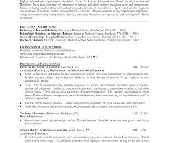 Great Physician Resume Sample Images Example Resume And Template