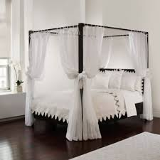 Provide an extra-luxurious ambience for your canopy bed with this ...