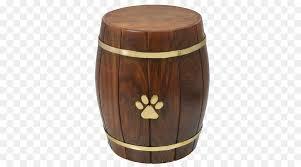 urn barrel wood table png