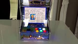 Raspberry Pi Game Cabinet Galaxian Mini Arcade Mame Cabinet With Raspberry Pi 2 And Retropie