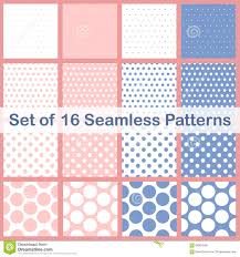 Different Types Of Patterns Delectable Set Of Sixteen Different Types Polka Dots Seamless Patterns Spring