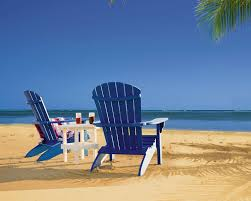 adirondack chairs on beach. Adirondack Chairs On The Beach