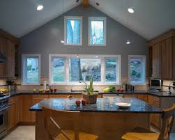 kitchen lighting ideas sloped ceiling at for pitched ceilings
