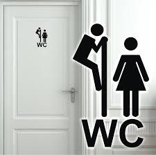 Wandtattoo Türaufkleber Wc Toilette Badezimmer Flur Aufkleber Tür