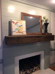 smlf fireplace before remodel reface brick with drywall covering tile