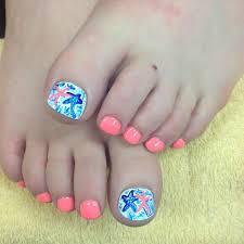 Pink Toe Nail Designs - Nails Gallery