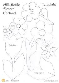 White Paper Flower Garland Flower Garland Drawing At Getdrawings Com Free For Personal Use