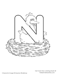 cute elmo abc coloring pages