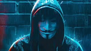 Blue Hacker 4K Wallpaper (Page 1 ...