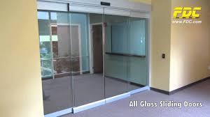 All Glass Sliding Doors Installation by Florida Door Control of ...