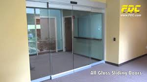 all glass sliding doors installation by florida door control of orlando you