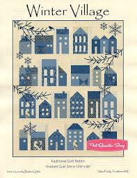 Winter Village Quilt Pattern Laundry Basket Quilts #LBQ-0634P ... & Hover to zoom Adamdwight.com