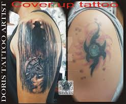 Infatuating Clock Cover Up Tattoo Rose And Clock Tattoo Cover Up