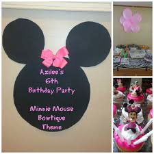 handmade minnie mouse decorations amazing invitation template
