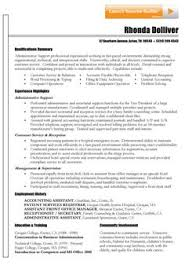 Office Administration Curriculum Vitae Http Topresume Info