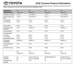 Tundra Bed Size Chart 2nd Gen Vs 3rd Gen Bed Size Difference Tacoma World