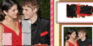 Small Picture Justin Bieber And Selena Gomez Puzzle Puzzle online hry