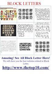 3d block letter font 04
