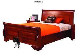 mahogany bed frame. Plain Mahogany Sweet Dreams Jackdaw Sleigh Bed Frame Mahogany Solid Wood 150cm Kingsize 5FT To W