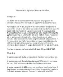 Personal Letter Of Recommendation Format Job Recommendation Letter Sample Examples Of Letters