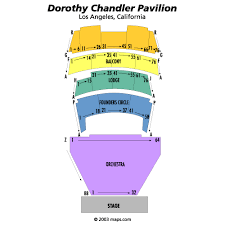 Dorothy Chandler Pavilion Los Angeles Tickets Schedule