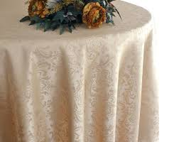 round linen tablecloths french