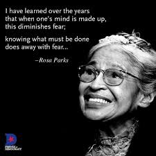 Rosa Parks Quotes Simple Rosa Parks Changed The Lives Of Many By Standing Up For What She