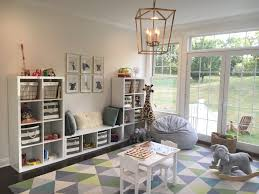 Toy Storage Living Room Playroom Toddler Room Baby Animals Blue Gray White Gold Ikea