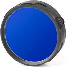 """<b>Фильтр</b> для фонарей <b>Olight</b> """"<b>FM20</b>-<b>B</b>"""", цвет: <b>синий</b>"""