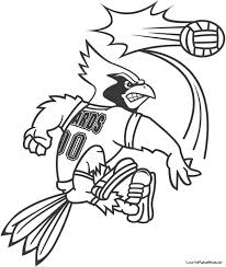 Small Picture Arizona Cardinals Coloring Pages Coloring Coloring Pages