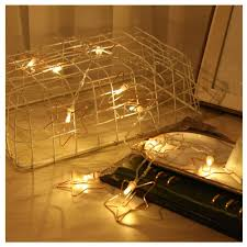 Battery Operated Led Indoor Lights Amazon Com Gugs Star String Lights Battery Operated Led