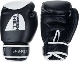 "<b>Перчатки боксерские Green</b> Hill ""Hamed"", цвет: черный, белый ..."