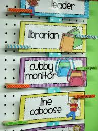 Classroom Job Charts Creative Ideas For Assigning Jobs